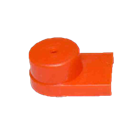 Terminal cover Red 214-107 (M5;M6)