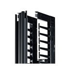 "Valueline, Vertical Cable Manager for 2 & 4 Post Racks, 84""H X 6""W, Single-Sided with Door"
